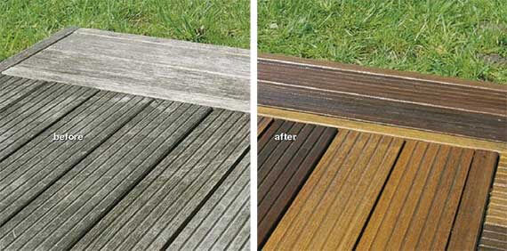 Garden decking maintenance advice tips on wooden for Garden decking quotes uk