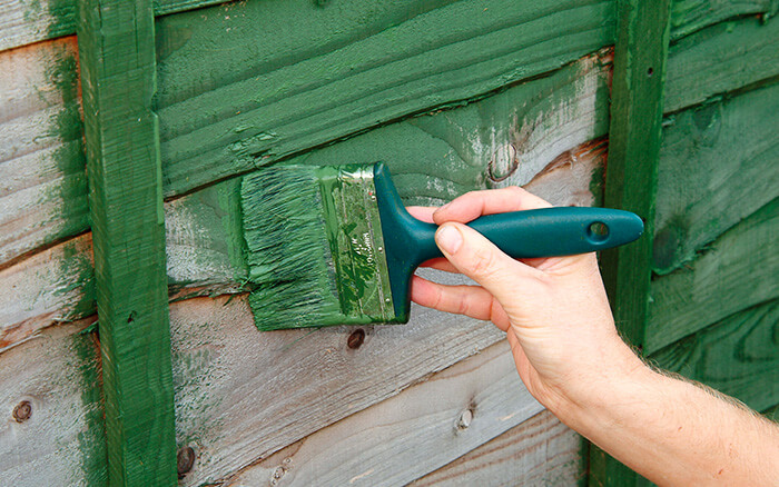 Garden Fence Care Preservative Paint Oil Treatments