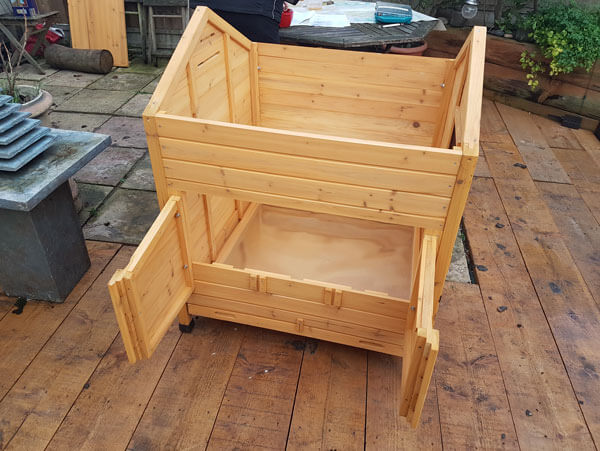 Building a Chicken Coop in the Garden